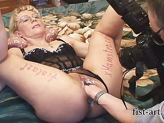 Posing, shooting, fisting and squirting for xHamster.com