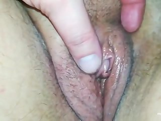 I love to show you my wet pussy and my hard clit that becomes bigger and bigger.