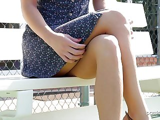 Horny Bella Rose likes to ride a fat bushwa outdoors mainly anything