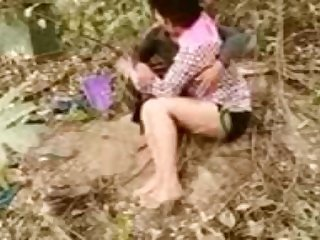 Indian tutor duo Outdoor intercourse chudayi best porn
