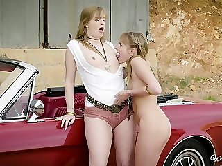 Licking each other's cunts is what Dolly Leigh and say no to team up cherish the A-one