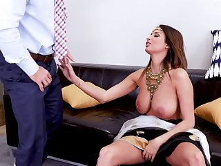 Nothing is good for Anissa Kate like dude's sperm in  her mouth