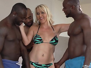 One hard and strong dick is not enough for stunning Julia Pink