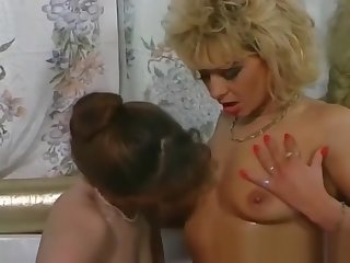 Piss; Two horny milfs are enjoying in wet
