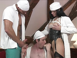 Bisexual dude loves to suck a dick together with his girlfriend