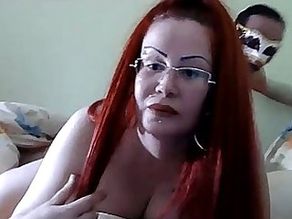 This whore loves it when her lover worships her ass on Valentine's day
