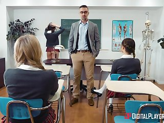 Best hardcore anal pleasures with the math teacher
