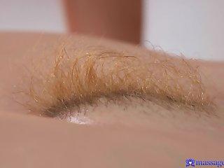 Closeup video of lesbian sex between Samantha Rone and Foxxi Black