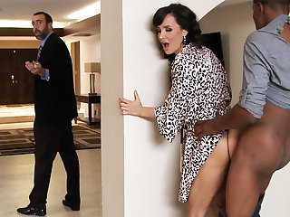 Spouse returned when housewife rails BIG BLACK COCK