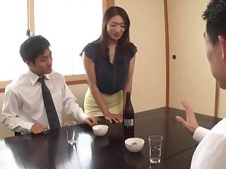 Lucky man gets his dick pleasured by slutty babe Kobayakawa Reiko